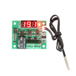 Digital Thermometer with Thermostat and Relay
