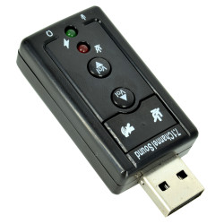 USB Sound Card 3D 7.1