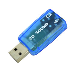5.1 USB Blue Sound Card