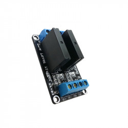 Module with 2 Solid State Relays (240 V, 2 A)