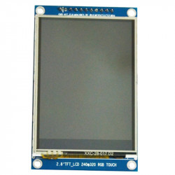 2.8'' SPI LCD Module with Touchscreen with ILI9341 and XPT2046 Controller (240x320 px)
