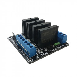 4 Solid State Relays Module (240 V, 2 A)