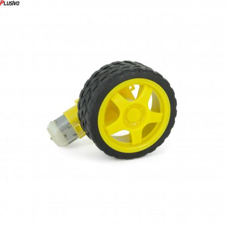 Gearmotor with Wheel
