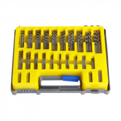 Mini Drill Bit Set 0.4 - 3.2 mm (150 pcs)