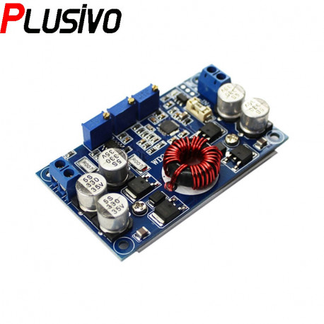 Adjustable LTC3780 Step-Down DC-DC Power Supply (CC Mode, CV Mode and UV Protection)