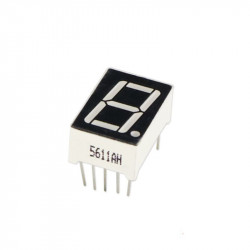 1 digit 7-segment Display