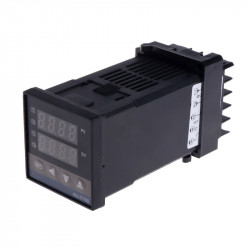 REX-C100FK02-V*AN Temperature Controller (K Type Input, Solid State Relay Output)