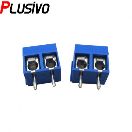 Blue 2p Screw Connector
