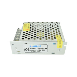 12V 3A (36 W) Switched Mode Power Supply