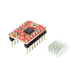 Red A4988 Stepper Motor Driver