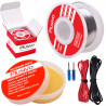 Plusivo Solder Wire and Rosin Paste Kit