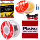 Plusivo Solder Wire and Rosin Paste Kit