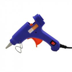 20W Glue Gun with Switch(Blue)