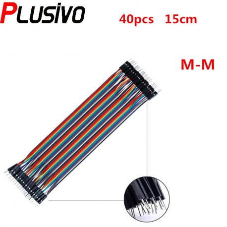 15 cm 40p Male Male Wire