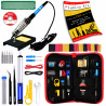 Plusivo Soldering Iron Kit for Electronics (US Plug type)
