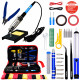 Plusivo Soldering Kit V3 With Diagonal Wire Cutter (220V, US Plug)