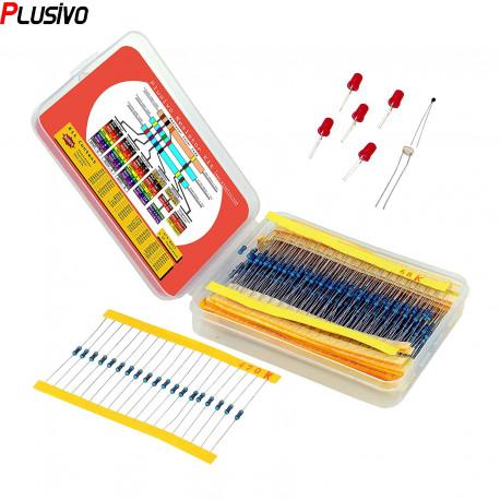 Resistor Kit (600 pcs)