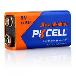 9V PKCELL Battery Alkaline