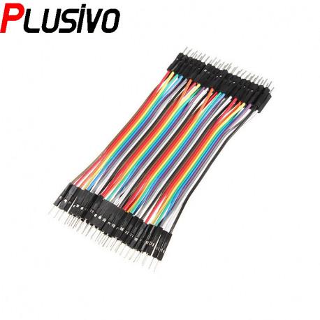 10 cm 40p Male to Male Wire
