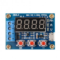 Battery Capacity Tester with External Load Discharge