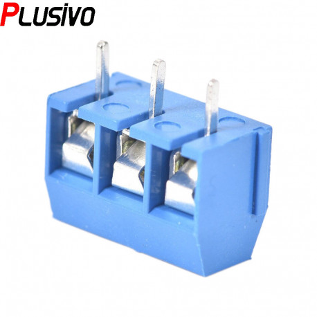 Blue 3p Screw Connector