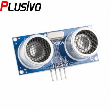 HC-SR04+ Ultrasonic Distance Sensor (3.3 V and 5 V Compatible)