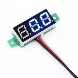 0-30 V Blue Panel Voltmeter