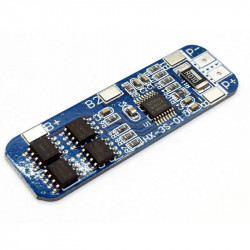 10A Overcurrent, Overcharge and Dischared Protection Board for 3 Cell LiPo and Li-Ion Batteries