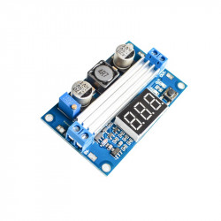 LTC1871 Adjustable DC-DC Step-up Voltage Converter with Display