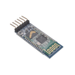 HC-05 Master Slave Bluetooth Module with Adapter (3.3V and 5V compatible)
