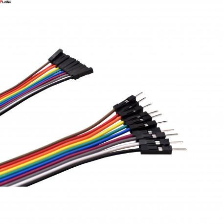 10 cm 40p Male to Female Wire