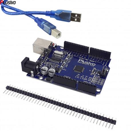UNO R3 Development Board (ATmega328p and CH340) + Cable
