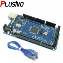 MEGA 2560 Board compatible with Arduino (ATmega2560 + ATmega16u2) + 50 cm Cable