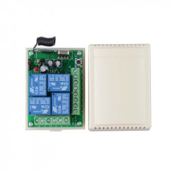 DC12V 4CH Wireless RF Remote Control Switch Transmitter Receiver Module