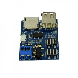MP3 Player Module with 2W Onboard Amplifier