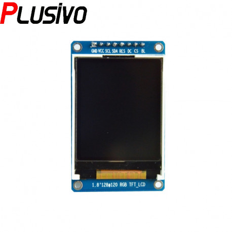 1.8'' SPI LCD Module with ST7735 Controller (128x160 px)