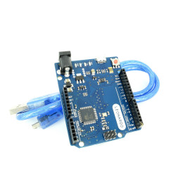 Development Board Compatible with Leonardo R3 and cable